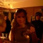 Sarah eats dill dip